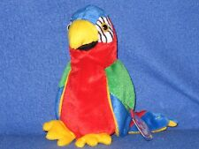 TY JABBER the PARROT BEANIE BABY - MINT with MINT TAGS