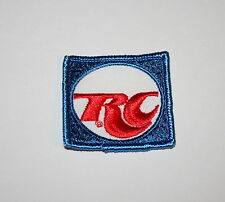 Vintage RC Cola Soda Advertising Small Cloth Shirt Hat Patch 1980s