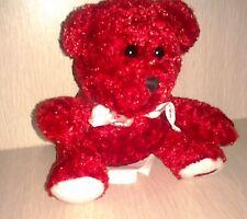 Baby Plush Red Teddy Bear