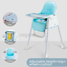 Multi Function Baby Highchair Dining Feeding Seat Play Table Adjustable  US