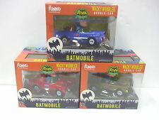 Funko wacky wobbler HOT TOYS Japan Excl 1966 POP Adam West Batmobile - All 3 Ver