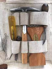 Vintage C. S. Osborne & Co. Upholstery Tools Awning Set Case Vintage