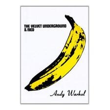 Velvet Underground Nico Banana Andy Warhol Vintage-Style Rock Music 24x36 Poster