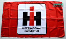 International Harvester Flag Banner 3x5 ft Agricultural Machinery Red
