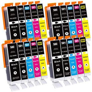 Druckerpatronen für Canon PGI-580 CLI-581 XXL PIXMA TR7550 TR8550 TS6150 TS8150
