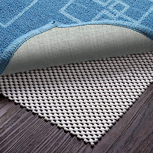 Veken Non-Slip Rug Pad Gripper 8 x 10 Feet Extra Thick Pad for Hard Surface Floo