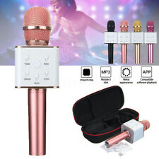 Handheld Wireless Bluetooth Microphone Karaoke KTV Mic + Speaker For Phone PC