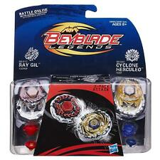 Beyblade Legends 2 Pk - Attack (BB-91C Ray Gil 100RSF & BB-94C Cyclone Herculeo