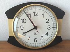Belle Horloge Pendule vintage noir japy  années 1950 /1960 / 1970