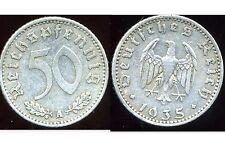 ALLEMAGNE WW2 50 reichspfennig 1935 A  ( it )