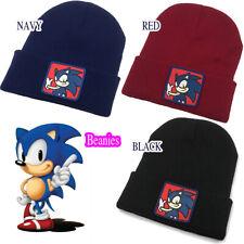 Sonic the hedgehog beanie Kids Boys Winter Knit Warm Soft Hat beanie cap