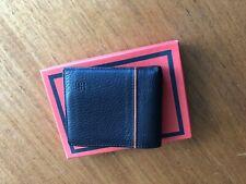Hermes Men's Leather Bill Wallet (bi-fold) Orange