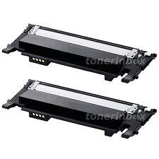 2 Pack CLT-K406S K406 Black Toner Set Fits Samsung 406 CLP-365W CLX-3305FW