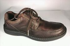 DUNHAM by NEW BALANCE Brown Leather Oxfords Shoes Mens US 8 M