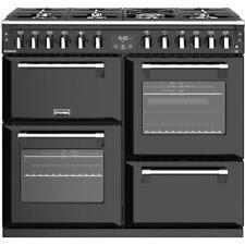 Stoves Richmond S1000DF Black 100cm Dual Fuel Range Cooker Made In U.K 444444451