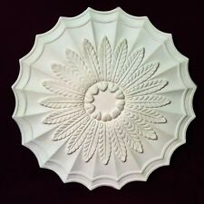 Ceiling Rose ART DECO Traditional Plaster 570mm Handmade