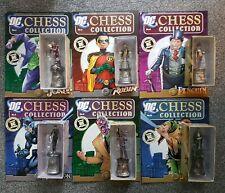 BATMAN DC CHESS COLLECTION - SELECT ONE - EAGLEMOSS DC COMICS CHESS SET PIECES