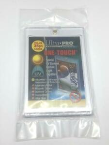1 ULTRA-PRO ONE-TOUCH Magnetic 35PT UV Protected Card Holders as picture in