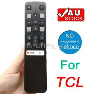 New RC802V FUR6 For TCL Voice TV Remote Control 55P8S 40S6500 43S6510FS