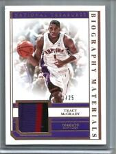 Tracy McGrady 18/19 National Treasures Game Used Jersey Patch #21/25