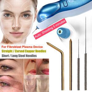 Fibroblast Plasma Esthetic Device Straight Curved Copper Needles Skin Tightening