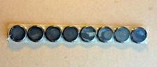 New Sealed Set Of 8 Levenger Circa Discbound 34 Black Plastic Discs