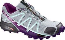 00 Salomon Speedcross 4 Scarpe Donna Quarry/acai/fair Aqua 38.5