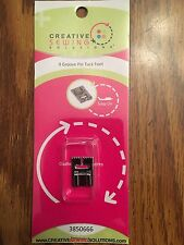 Creative Sewing Solutions 9 Grove Pin Tuck Foot Low Shank Brother Elna Janome