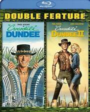 CROCODILE DUNDEE/CROCODILE DUNDEE II (Blu-ray Disc, 2014, 2-Disc Set) NEW