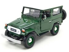 TOYOTA LAND CRUISER FJ40 VERT HARD-TOP BLANC - 1/24 MOTORMAX
