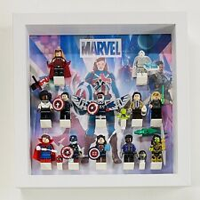 Display Case Frame for Lego Marvel Studios CMF minifigures 71031 figures 25cm