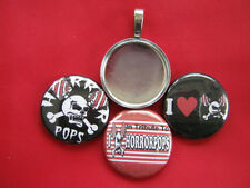 Horrorpops Handmade Interchangeable Pendant Necklace Music Group