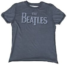 AMPLIFIED THE BEATLES Logo Rock Star ViP Nähte Aussen Vintage T-Shirt g.L/XL 54