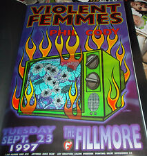 Violent Femmes Fillmore Poster Phil Cody Bgf291Original Bill Graham Chris Shaw