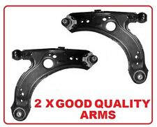 VW BORA GOLF MK4 FRONT LOWER ARM WISHBONE WITH B/JOINT BALL JOINTS BUSHES X 2