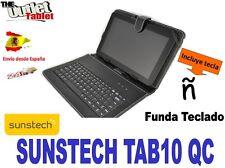 "FUNDA TECLADO TABLET SUNSTECH TAB10 QC 10,1"" 10"" universal KEYBOARD CASE"