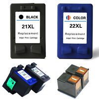 21XL Black & 22XL Colour Ink Cartridge For HP Deskjet F2180 F2280 F380 340 D1460