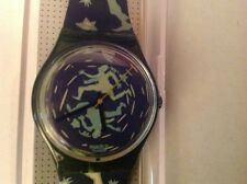 "Vintage Swatch ""Crash"" AGG111 Watch New"