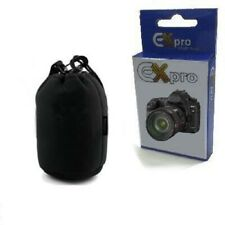 Ultraportátil Negra De Neopreno llevar Funda Para Kodak Pixpro Sl5 Lens-style Camera