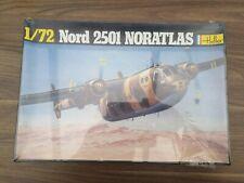 Vintage Heller Nord 2501 Noratlas Model Kit, Sealed Parts, 1/72  Sealed Box.