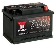 Ford C-Max, Escort, Fiesta, Focus, Mondeo, S-Max YUASA Car Battery YBX3075