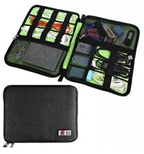 BUBM Waterproof Universal Cable Organizer Electronics Accessories Storage Bag