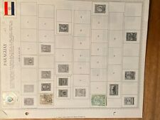 Paraguay stamp lot 1900-1955