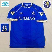 Chelsea Football Shirt Mint ZOLA Vintage Genuine 1999/00 UMBRO Jersey