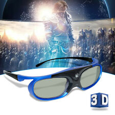 Active Shutter 3D Glasses for BenQ/Acer/Optoma/CooLUX DLP Projector USB Charging