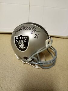 Cliff Branch Autographed Oakland Raiders Mini Helmet