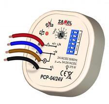 Relais temporisé PCP-04/24, multifonctions, 8 indépendants modes, 24 V AC/DC
