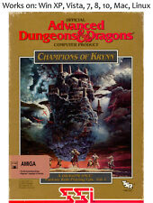 Dungeons and & Dragons: Krynn Series PC Mac Linux 3 Games