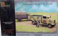 1/72 Scale Pegasus Hobbies 'German Army Trucks' Includes 2 Trucks Kit #7610