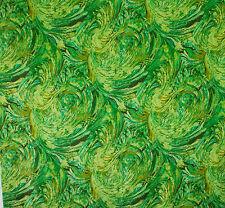 vintage 1960s Sanderson Firebird abstract art print cotton interiors fabric